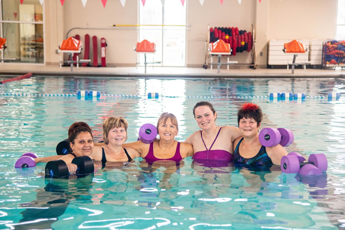 YMCA Aquatic Fitness Classes